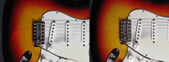 1963-1964 Sunburst Stratocaster color change
