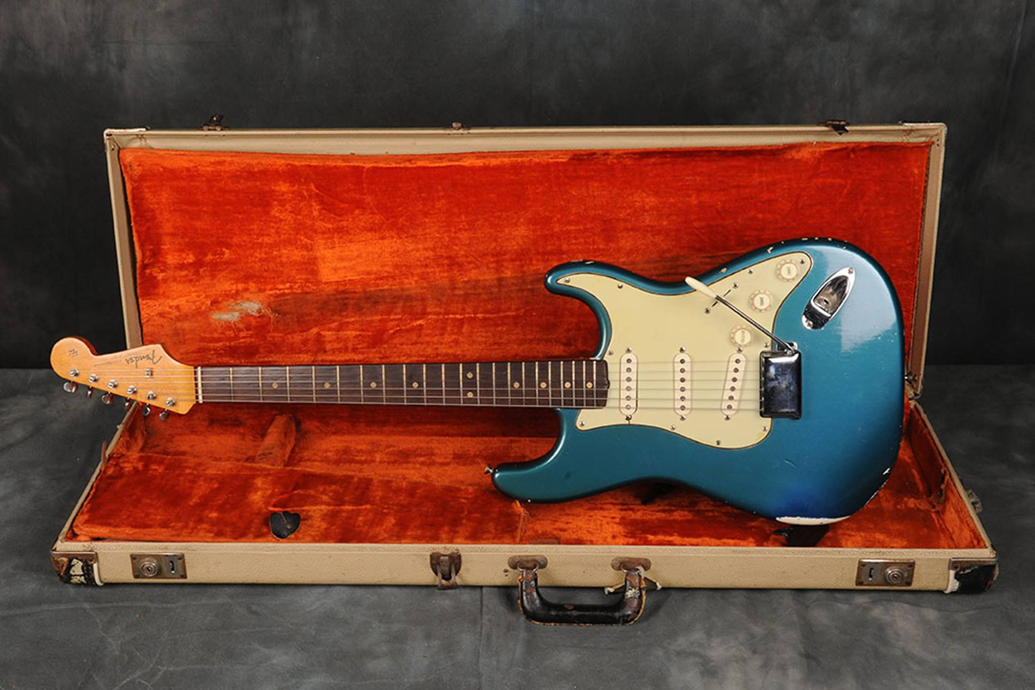 1964 Lake Placid Blue Fender Pre CBS Stratocaster