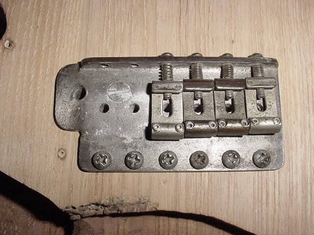 1953 stratocaster tremolo block top
