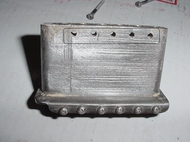 1953 stratocaster tremolo inertia block