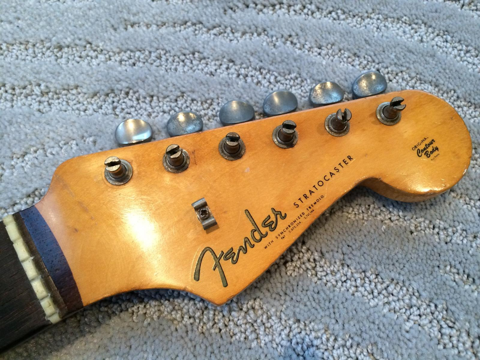 Fender Stratocaster Decal 50s